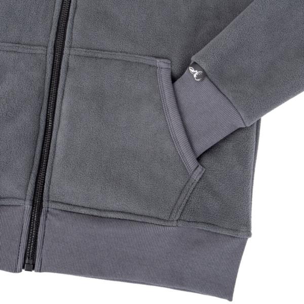 Retro Hoodie Stone Pocket Rgb