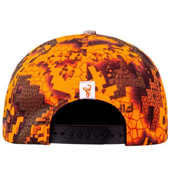 Vista Cap Veil+fire Back Rgb