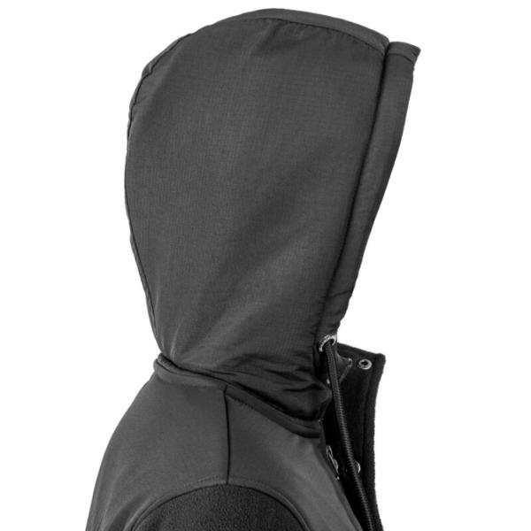 Beaufort jacket Black Hood Rgb 2000x