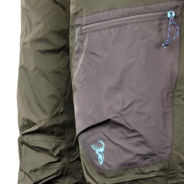 Obsidian Trousers Womens Green Pocket Rgb