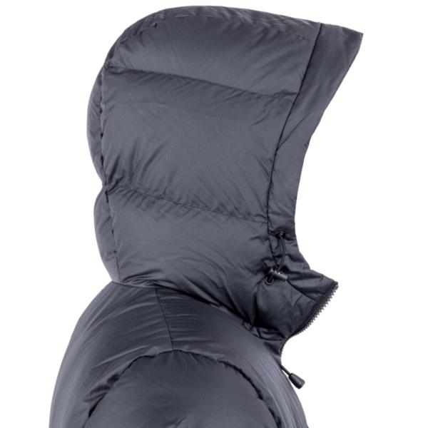 Glacier Jacket Black Hood Rgb