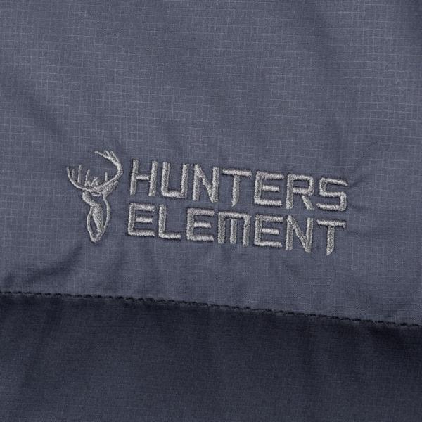 Glacier Jacket Black Logo Rgb