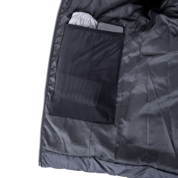 Glacier Jacket Black Net Pocket Rgb
