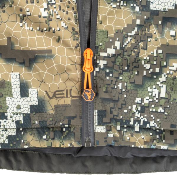 Sleet Jacket Veil Zip Rgb
