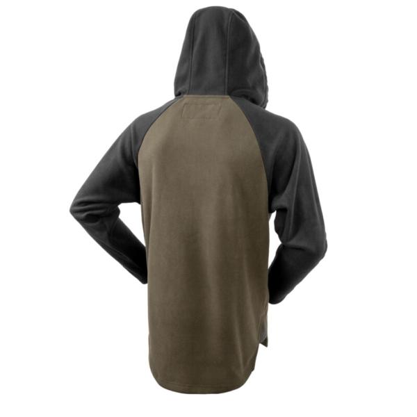 Whakarapu Ls Hood Back Green+black Rgb