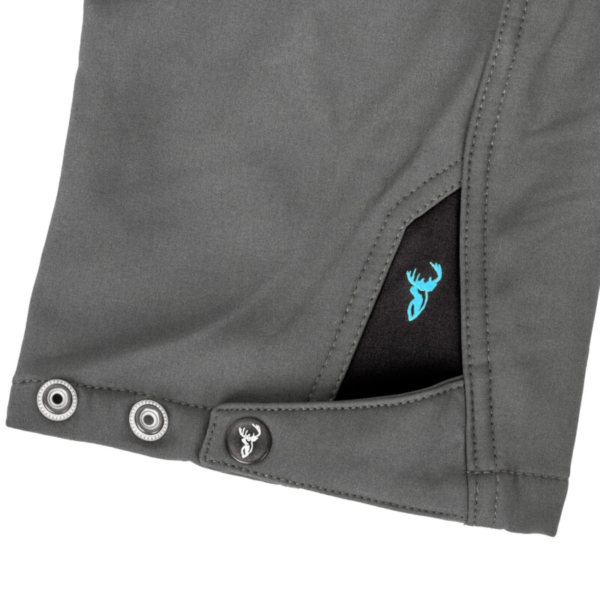 Boulder Trousers Grey+black Cuff Rgb
