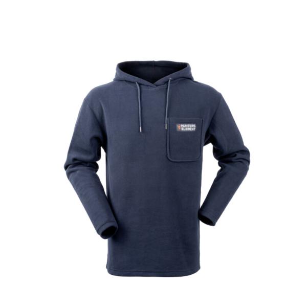 Amble Fleece Hoodie Main Navy Rgb
