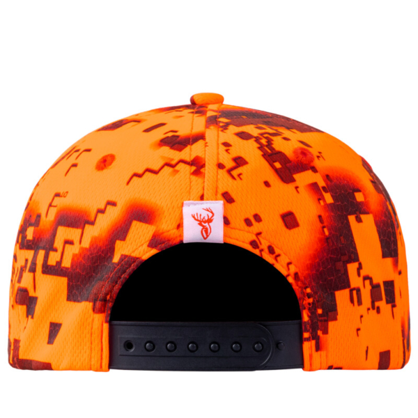 Red Stag Cap Fire Back Rgb