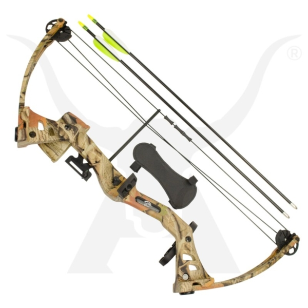 Rookie Youth Compound Bow Camo 1