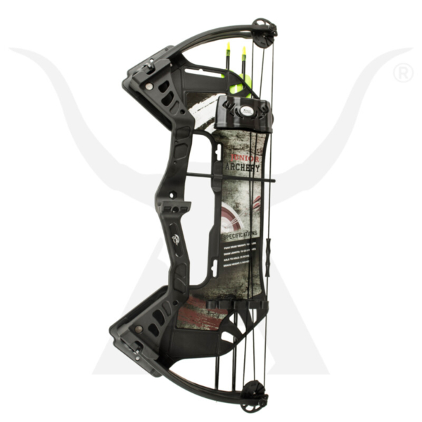 Rookie Youth Compound Bow Black 3